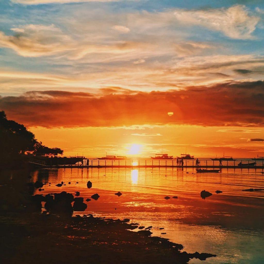 tagbilaran to panglao, tagbilaran to cebu, cebu to tagbilaran, tagbilaran to jagna, sunsets in the Philippines, sunset in Panglao