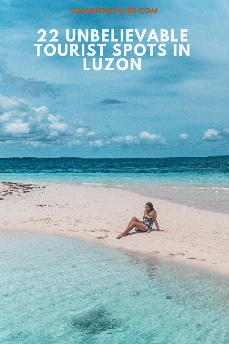 Tourist spots in Luzon