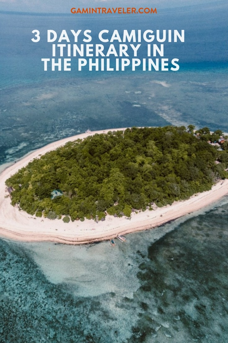 Camiguin Itinerary