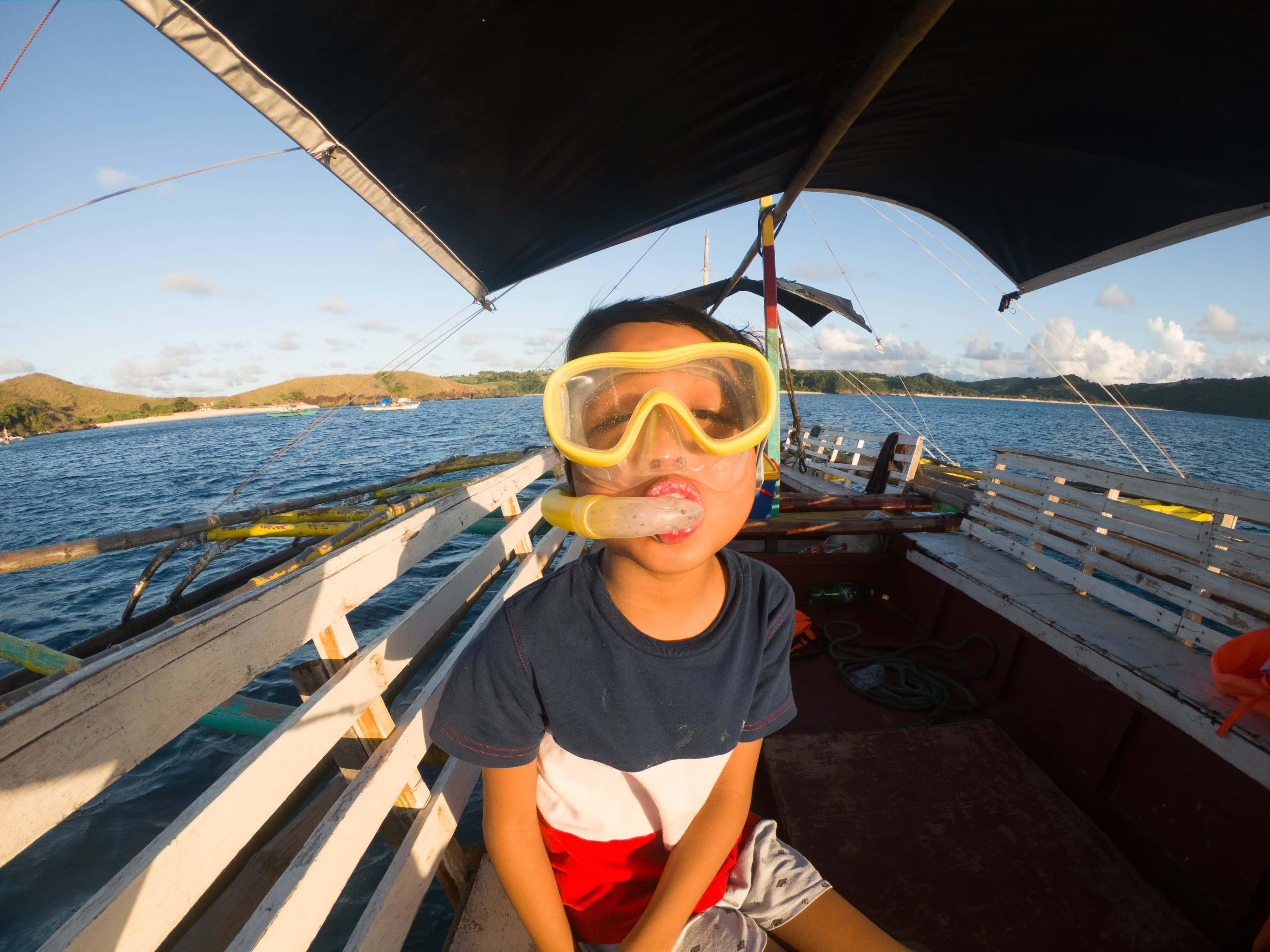 snorkeling in Calaguas Island