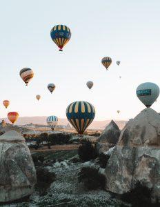 Is Turkey safe for travel, Cappadocia hot air balloon
