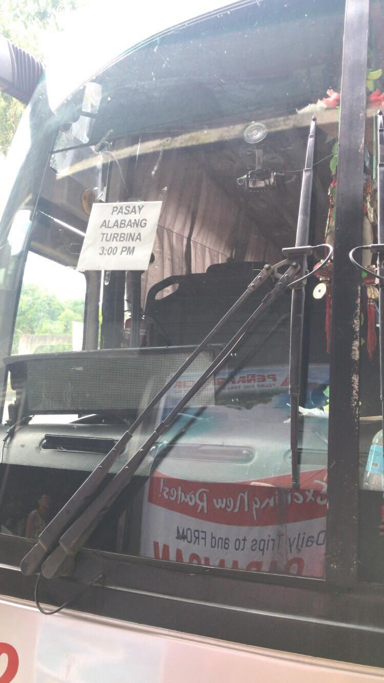 Naga to Caramoan, Caramoan to Manila in Pasay