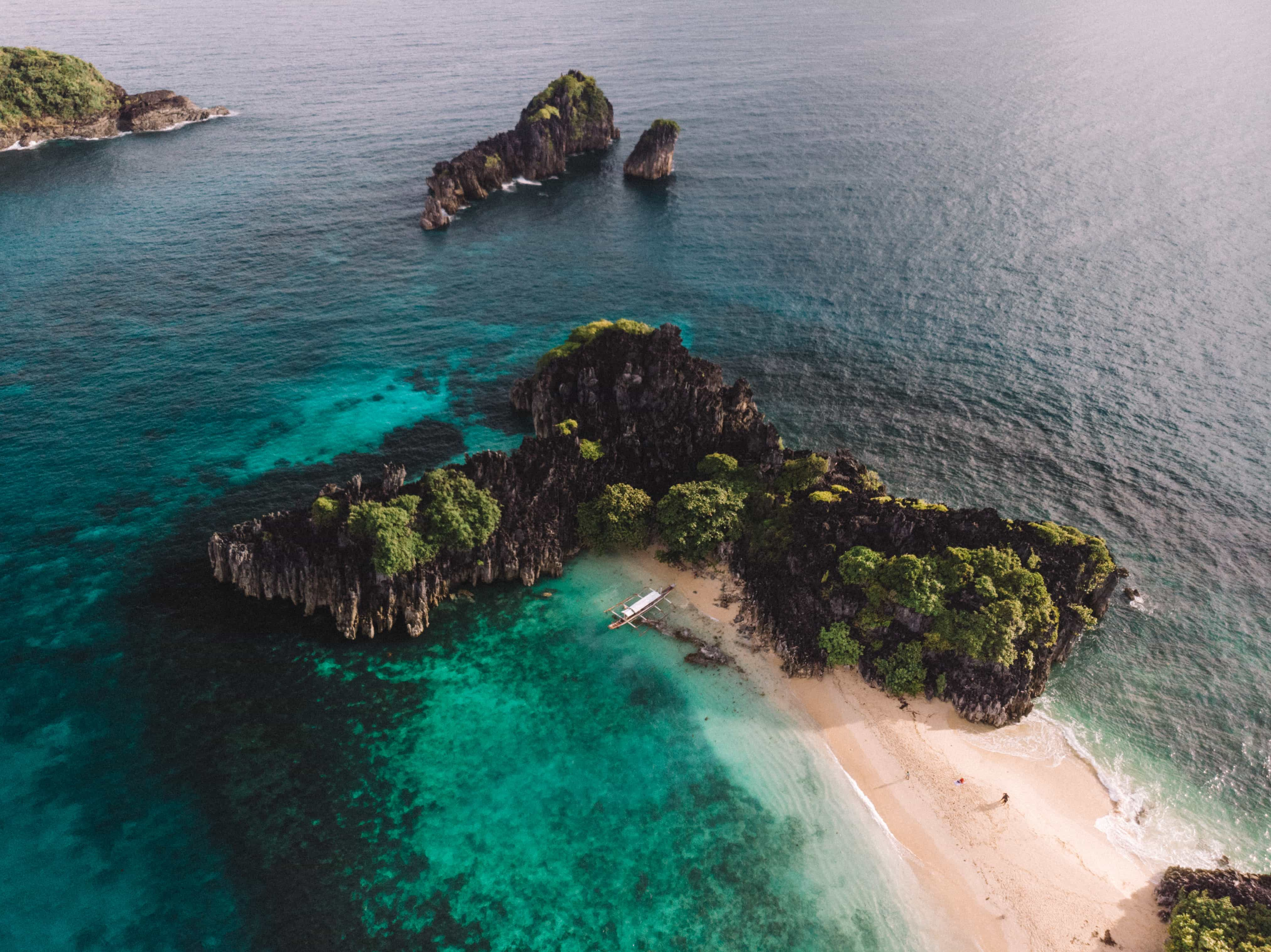 Bag-ing, Lahos Beach, Caramoan Itinerary