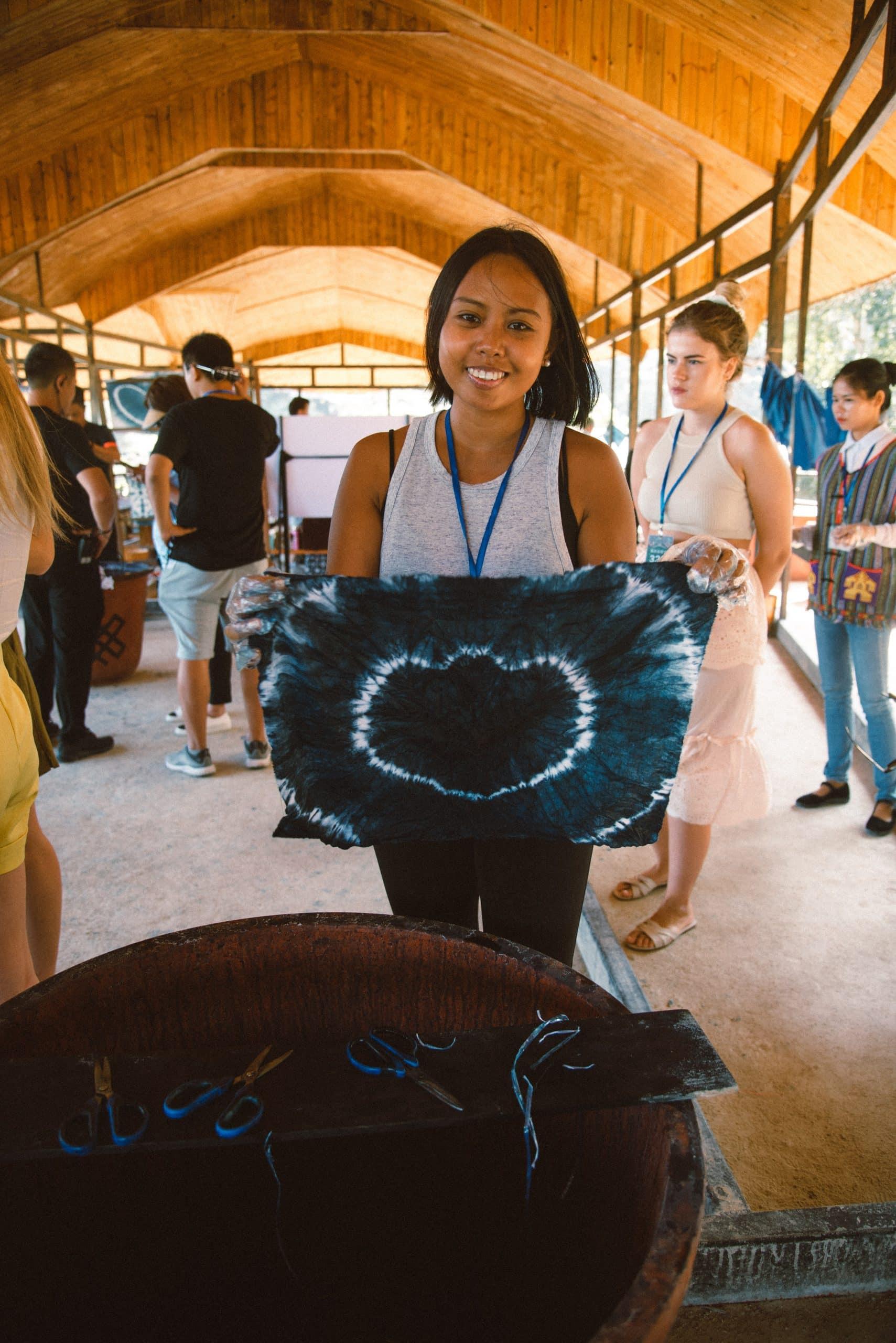 things to do in Sanya, Sanya travel guide, learn how to make a batik in Sanya