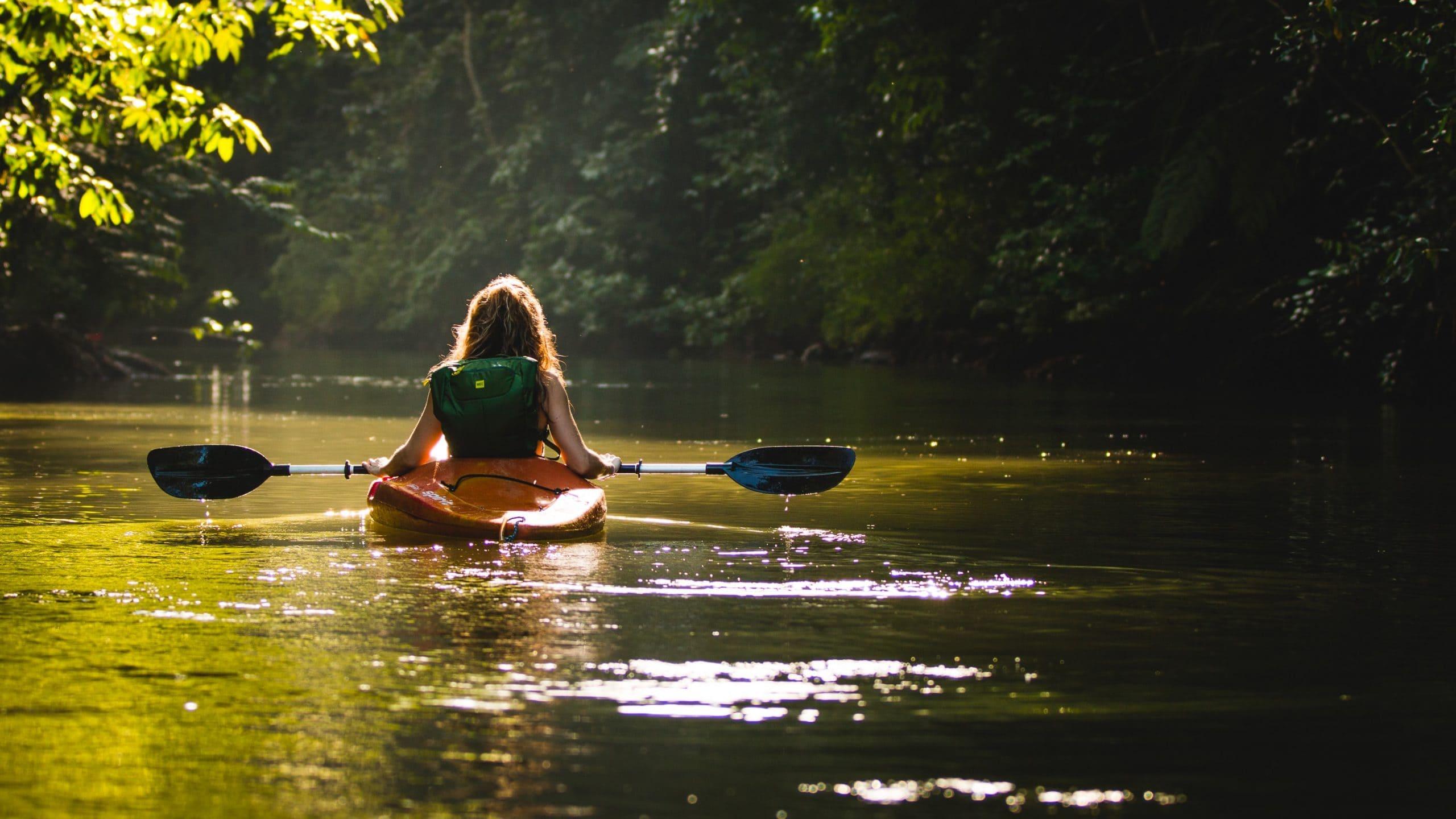 Kayaking in Sanya