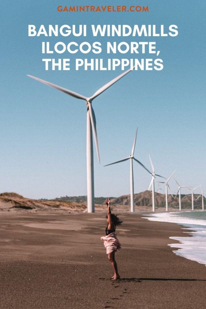 Bangui Windmills Ilocos Norte, the Philippines