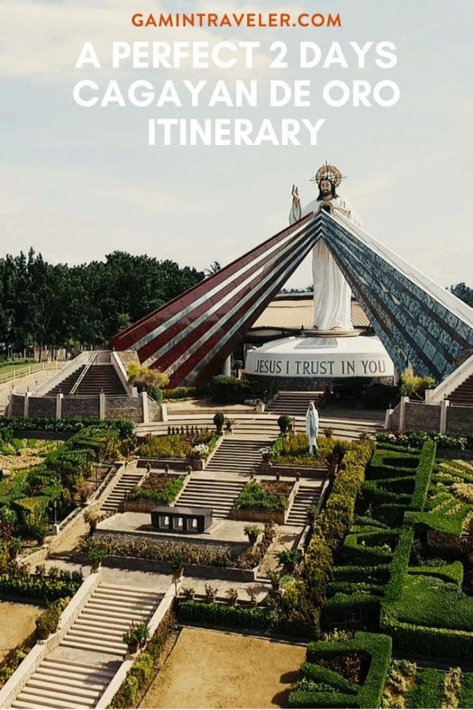 Cagayan de Oro Itinerary