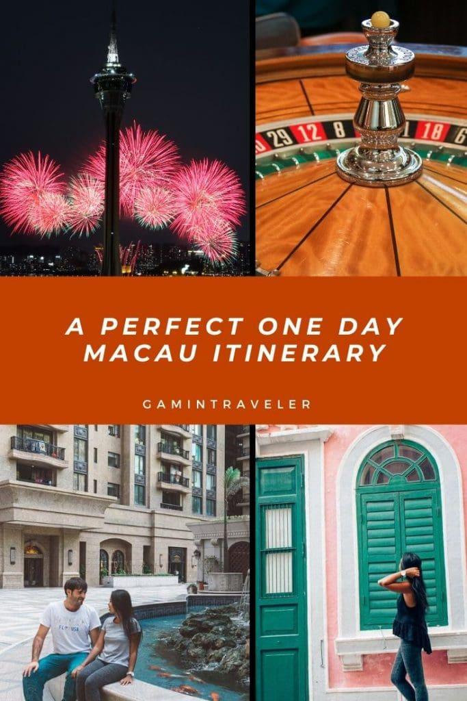A Perfect One Day Macau Itinerary