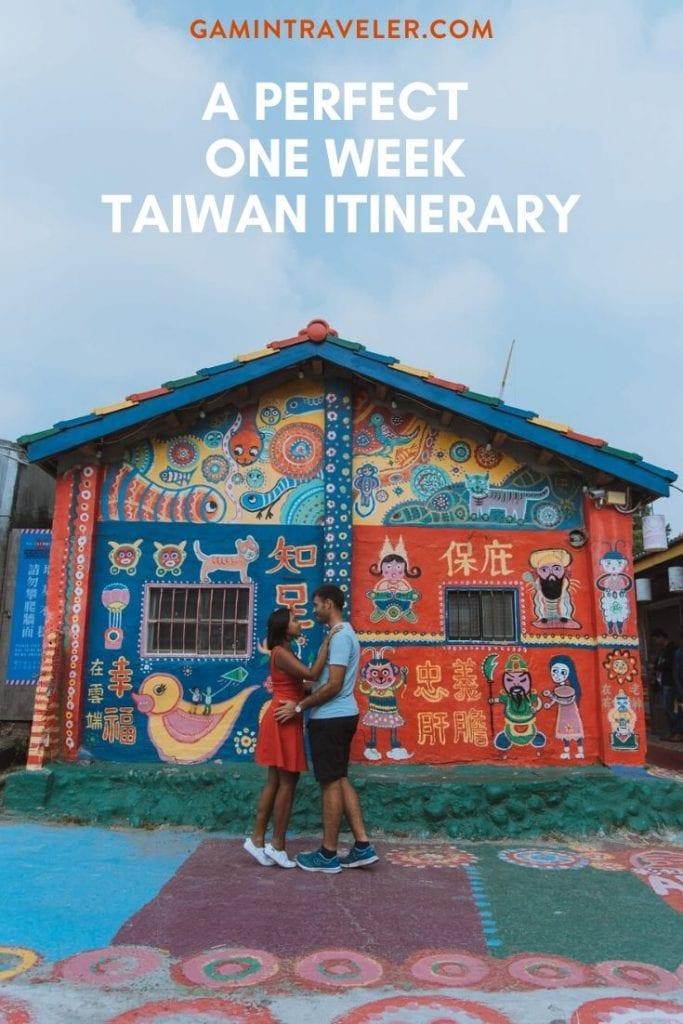 One Week Taiwan Itinerary