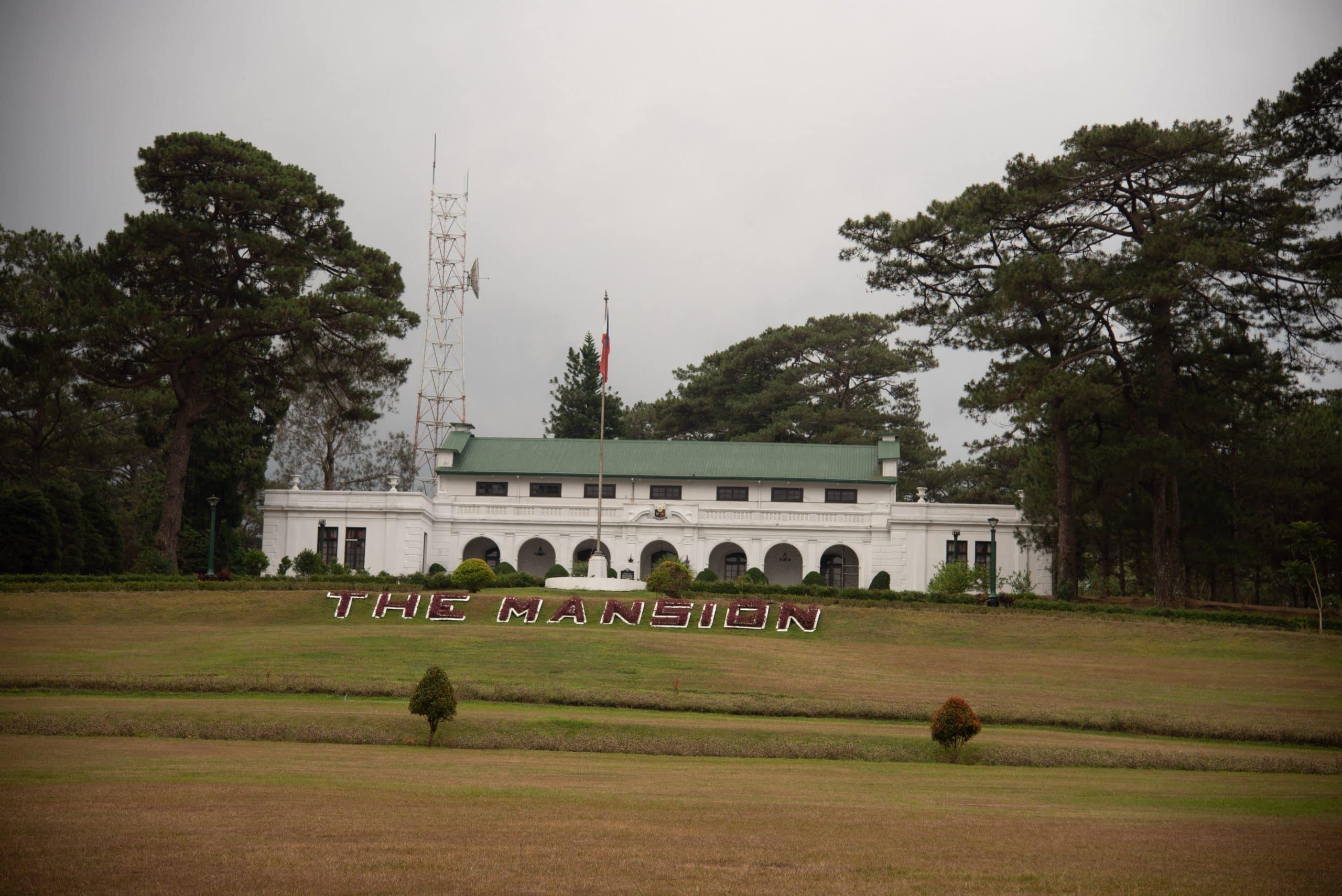 Baguio tourist spots, Baguio travel guide, The Mansion