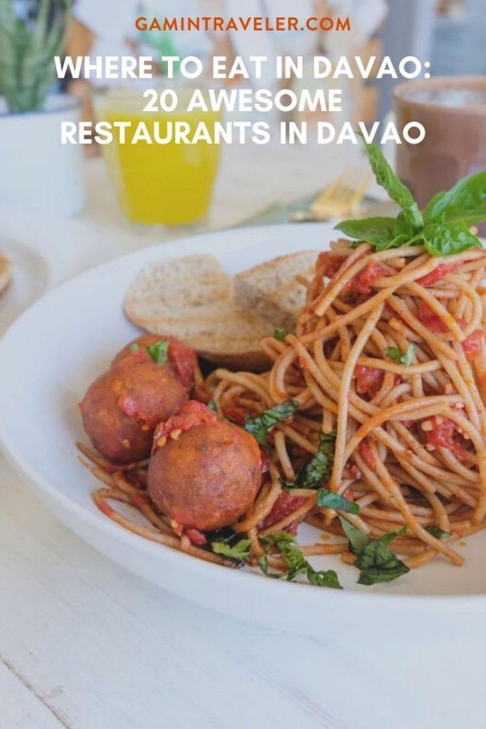 davao food, restaurants in davao , mindanao food, where to eat in davao,