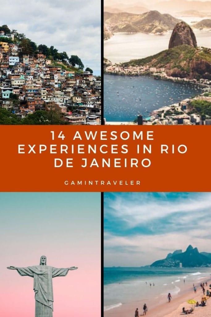 14 AWESOME EXPERIENCES IN RIO DE JANEIRO