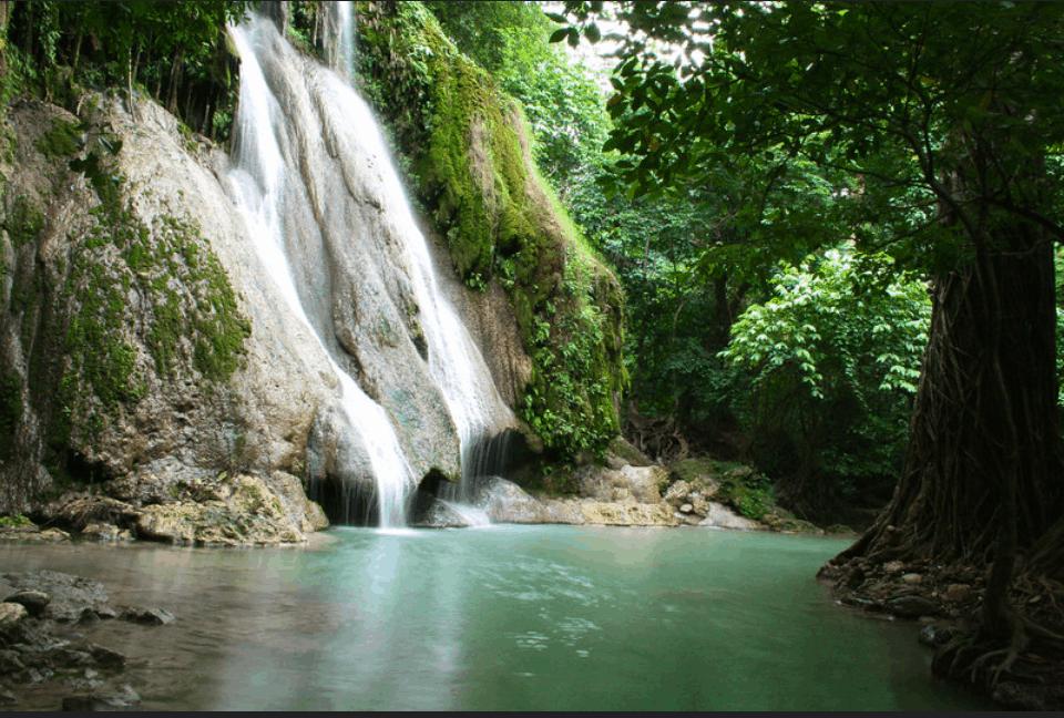 Rizal Tourist Spots - Batlag Waterfalls