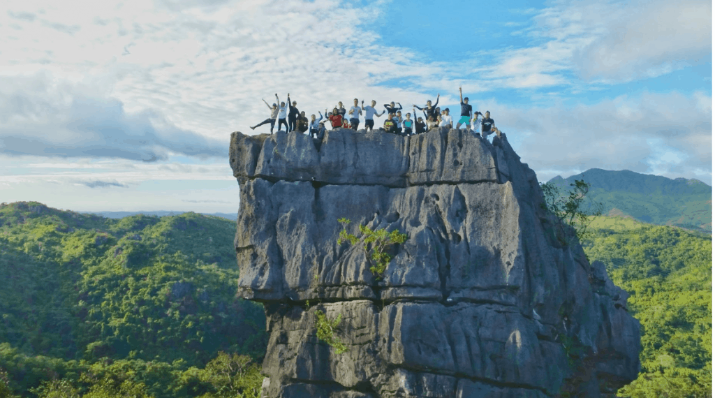 Rizal Tourist Spots - Nagpatong Rock formation