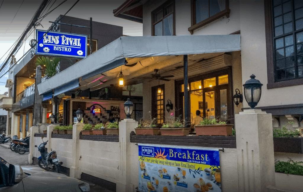 Restaurants in Dumaguete, Dumaguete Food, Sans Rival Bistro