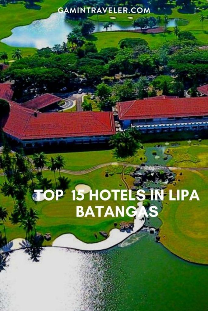 hotels in lipa, lipa resorts, lipa hotels