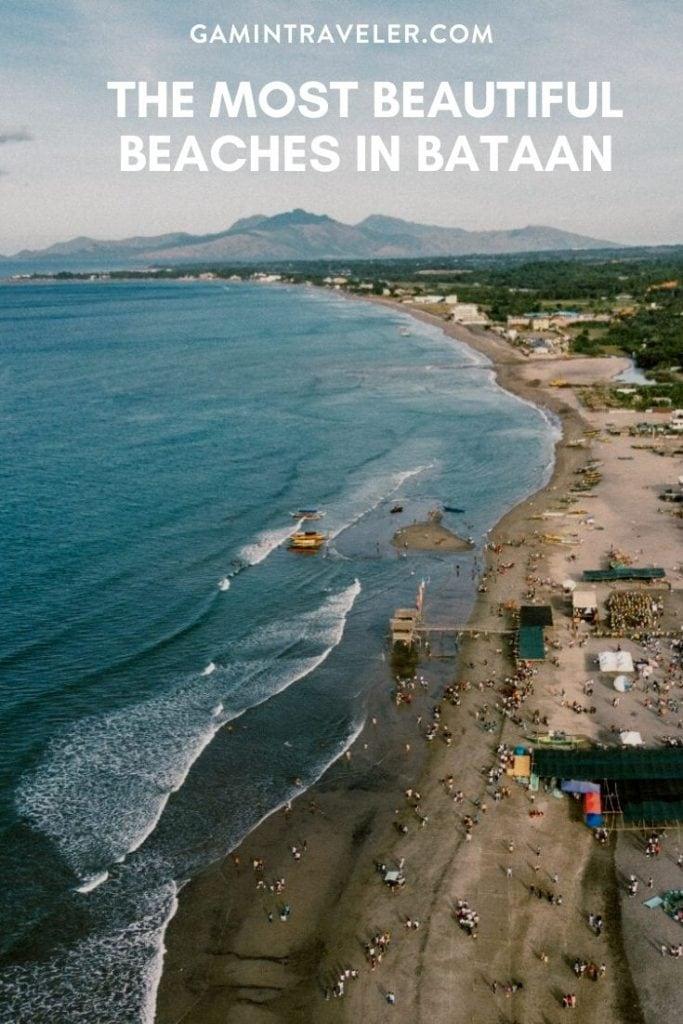 beaches in bataan