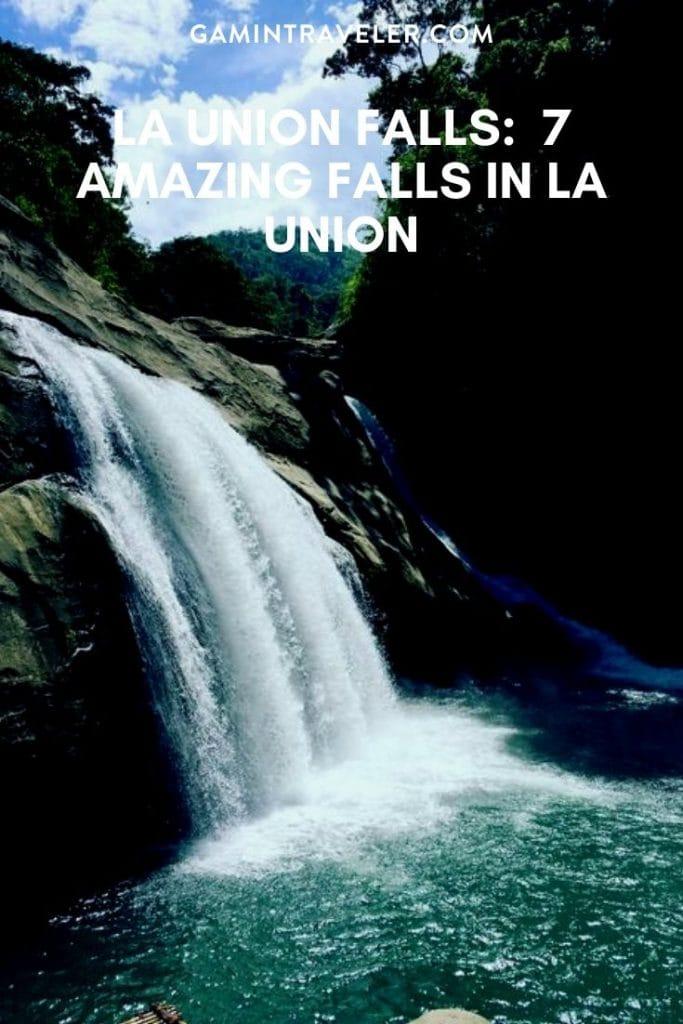 la union falls, falls in la union