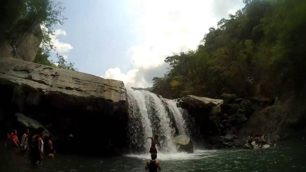 Maranum Falls, falls in pangasinan, pangasinan falls