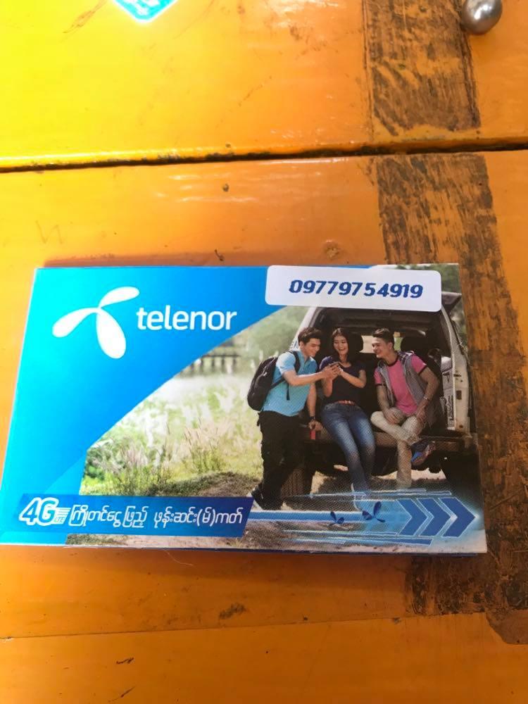 Telenor, myanmar tourist sim card, myanmar prepaid sim card, Myanmar sim card, yangon airport sim card, best sim card myanmar, myanmar pocket wifi, sim card in myanmar