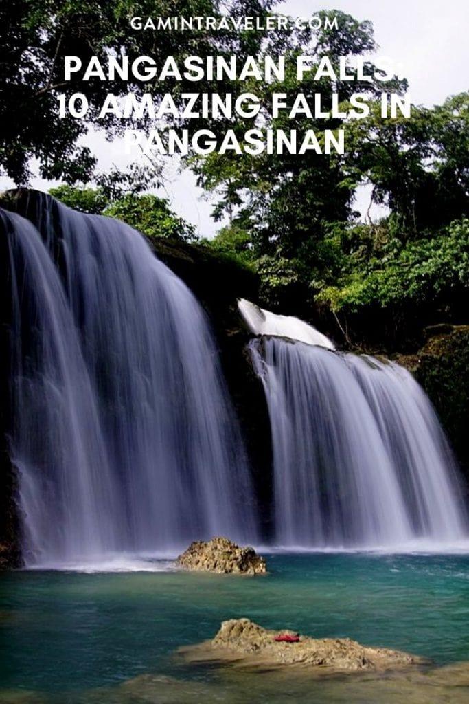 falls in pangasinan, pangasinan falls
