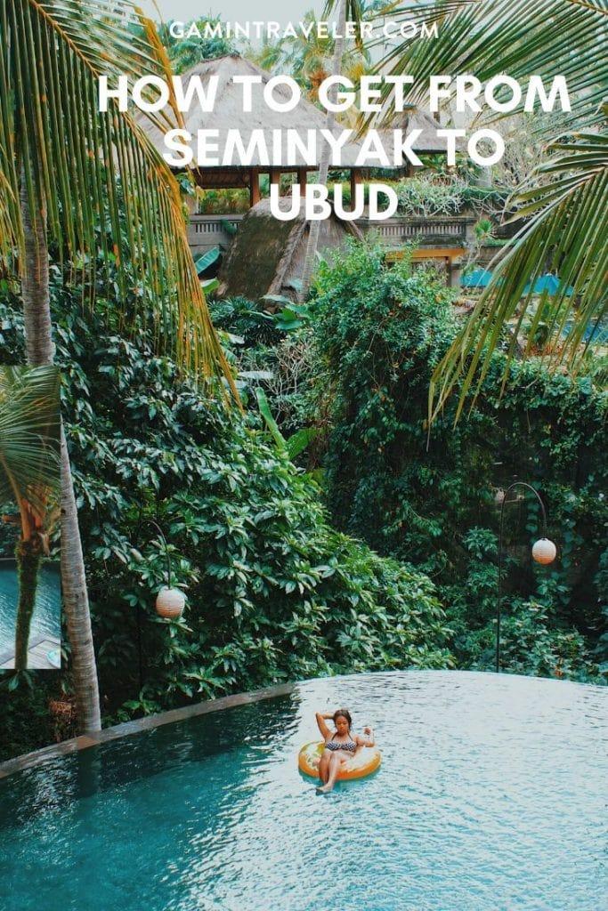 seminyak to ubud, distance from ubud to seminyak, seminyak to ubud taxi, seminyak to ubud travel time