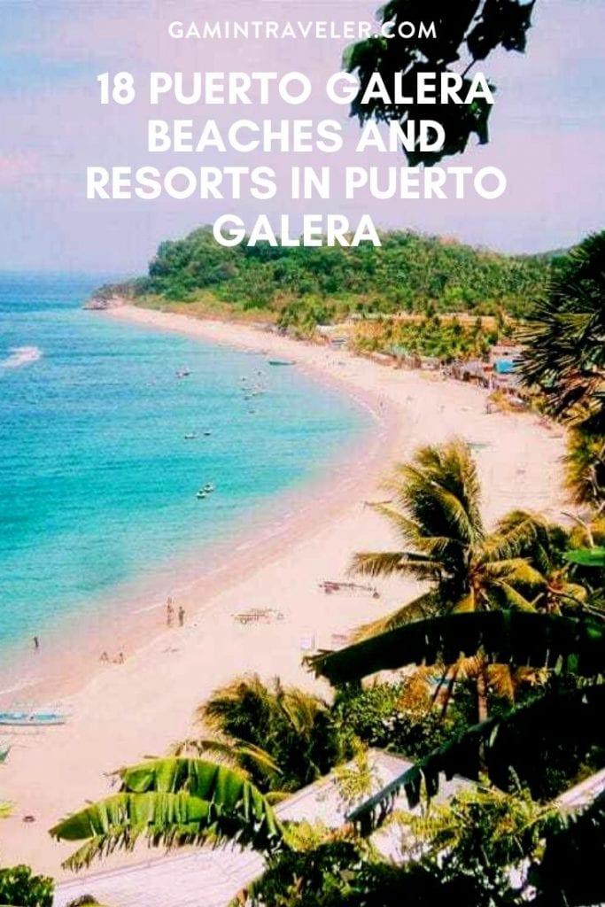 puerto galera resorts, resorts in puerto galera, puerto galera beaches, beaches in puerto galera