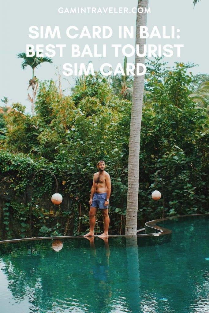 Sim Card in Bali: Best Bali Tourist Sim Card