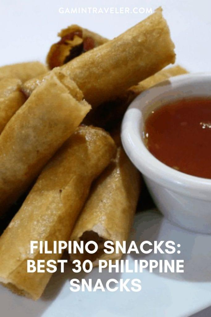 filipino snacks, philippine snacks, filipino merienda