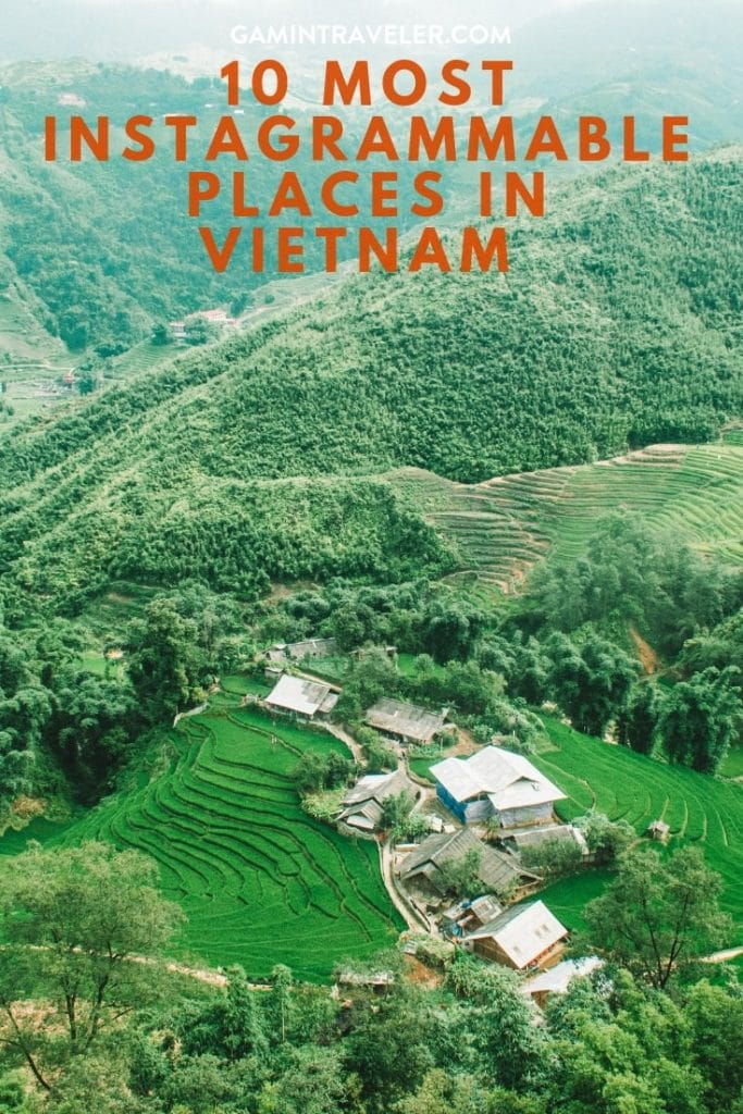 Instagrammable places in vietnam