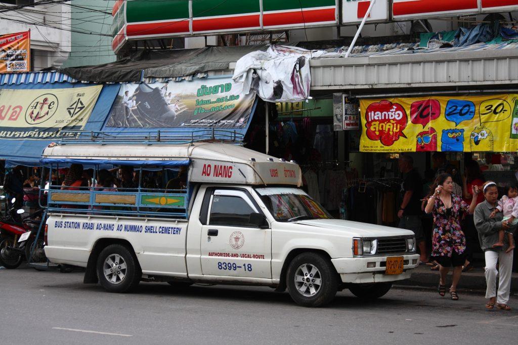 krabi airport to ao nang, taxi from krabi airport to ao nang, shuttle bus krabi airport to Ao nang