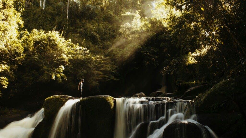 Talay Falls, falls in laguna, laguna falls