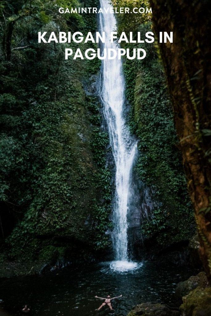 KABIGAN FALLS IN PAGUDPUD, Kabigan falls, kabigan waterfalls, kabigan falls pagudpud, kabigan falls in ilocos norte
