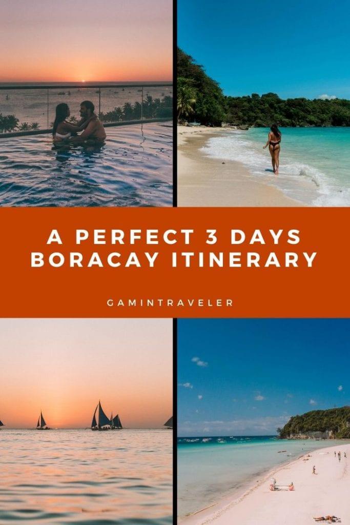 Boracay Itinerary