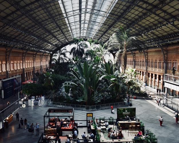 Atocha Train Station,