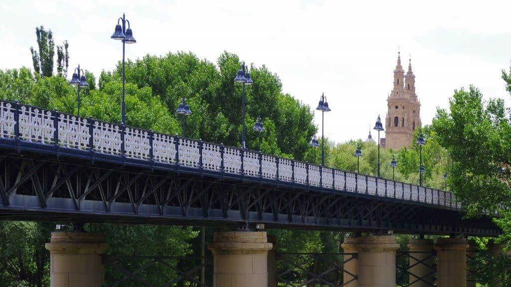 Iron Bridge Logroño, things to do in Logroño, Logroño tourist spots