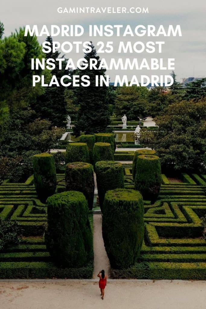 Madrid Instagram Spots, most instagrammable places in madrid