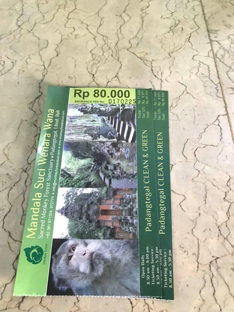 Moneky forest, Kecak dance, Ubud itinerary, Monkey forest entrance fee