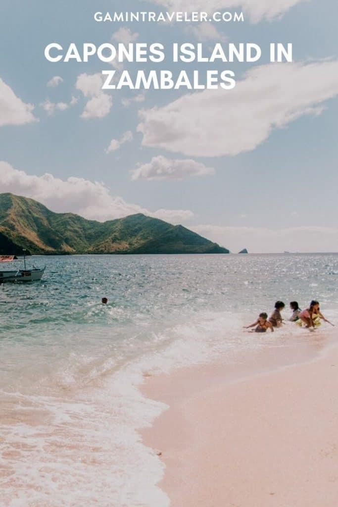 Capones Island in Zambales