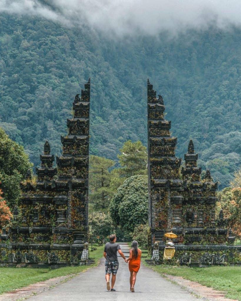 Handara Gates, Ubud itinerary