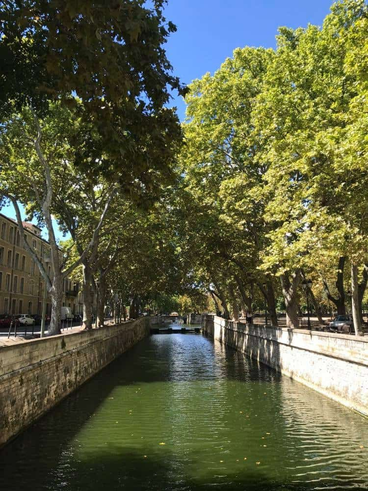 Quai de la Fontaine, Things to do in Nimes, Nimes Tourist Spots