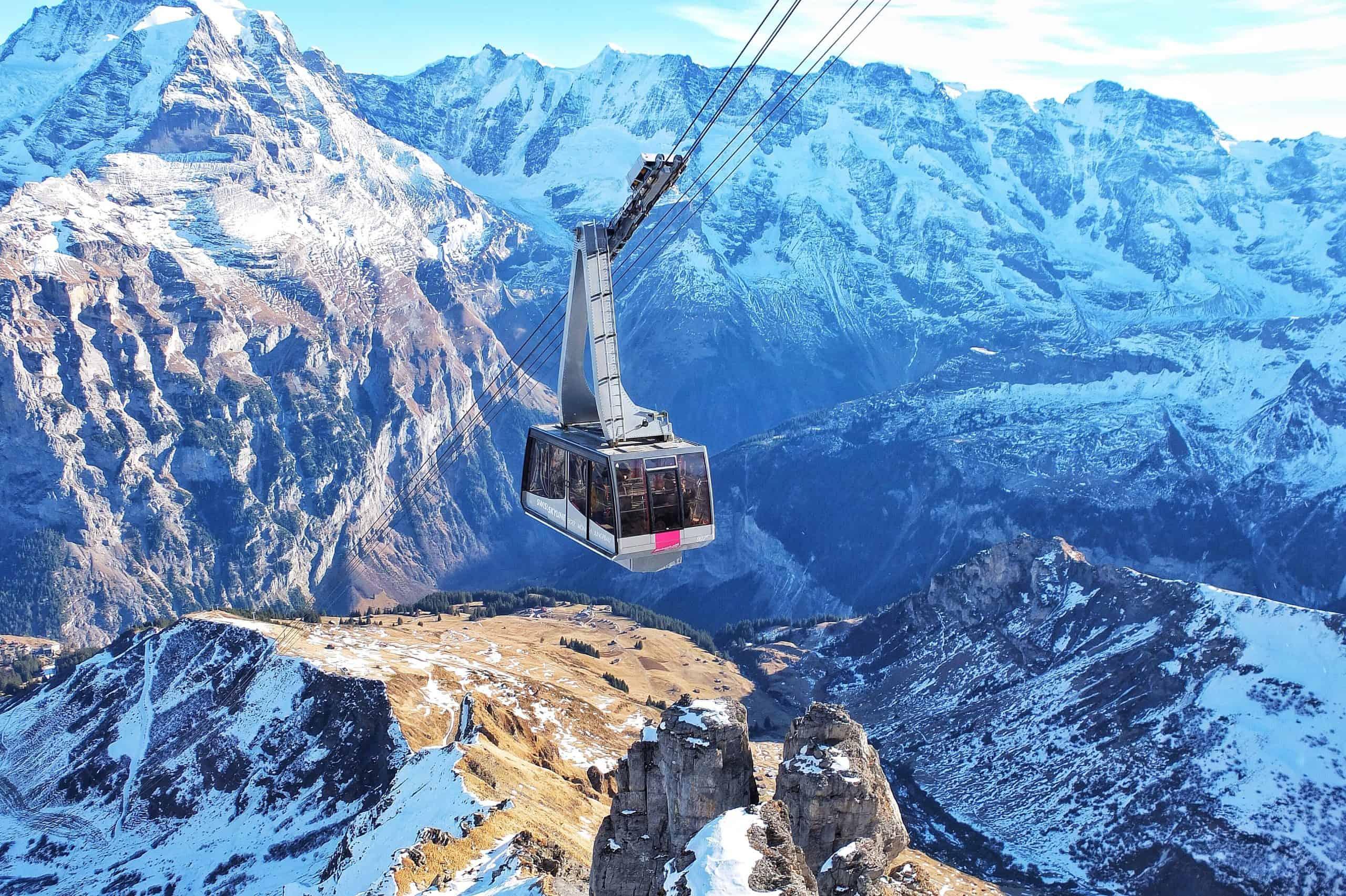budget travel in Switzerland