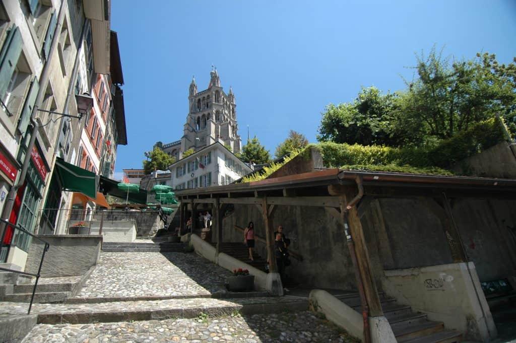 Lausanne Things to do in Lausanne, Lausanne tourist spots, Escaliers du Marche