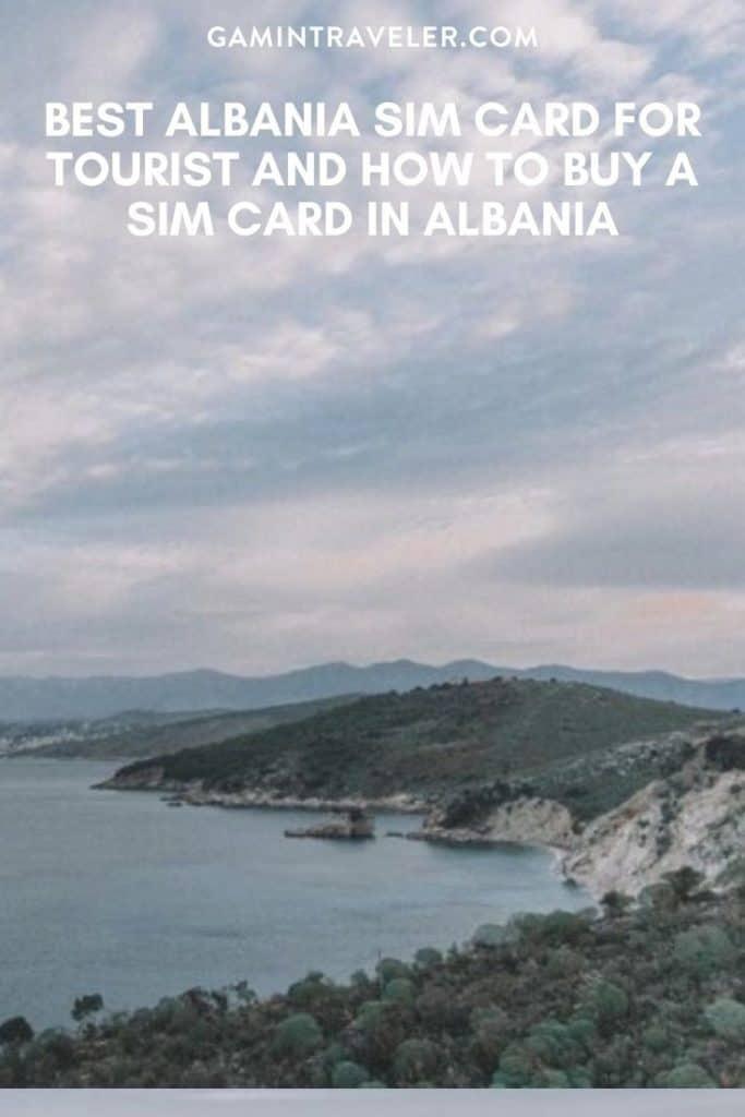 albania sim card, sim card in albania