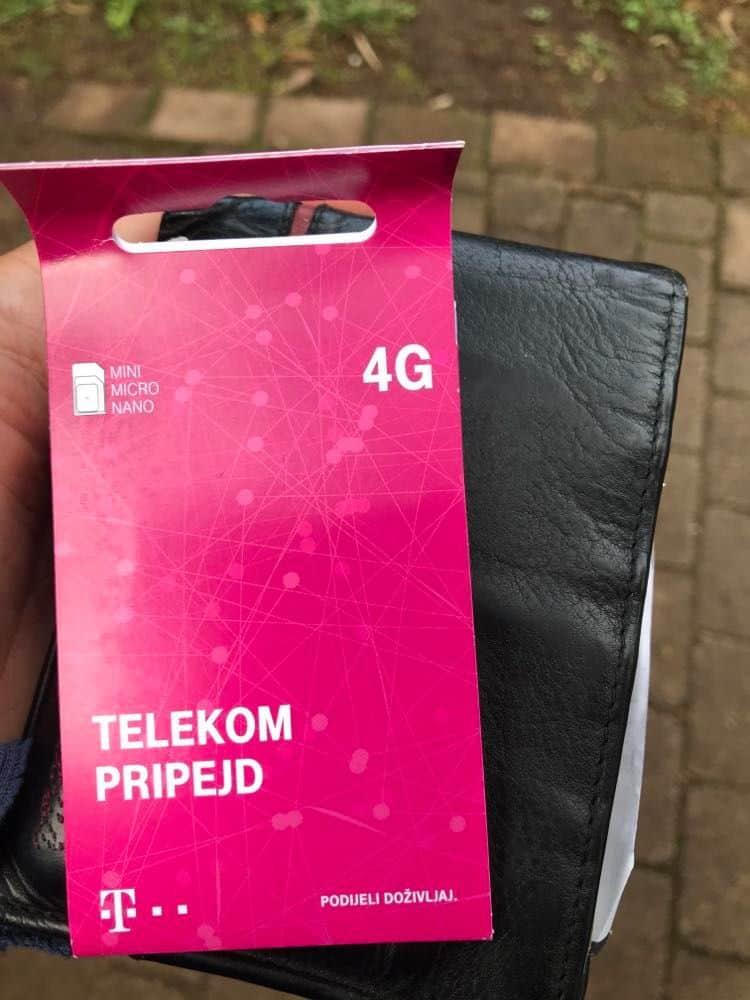 montenegro sim card, sim card in montenegro, Telekom Montenegro