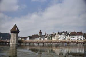 Lucerne Tourist Spots, Things to do in Lucerne, Kapellbrücke (Chapel Bridge)