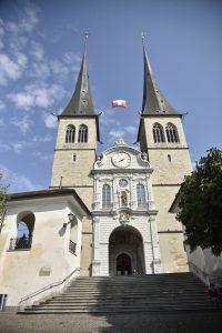 Lucerne Tourist Spots, Things to do in Lucerne, Hofkirche St. Leodegar