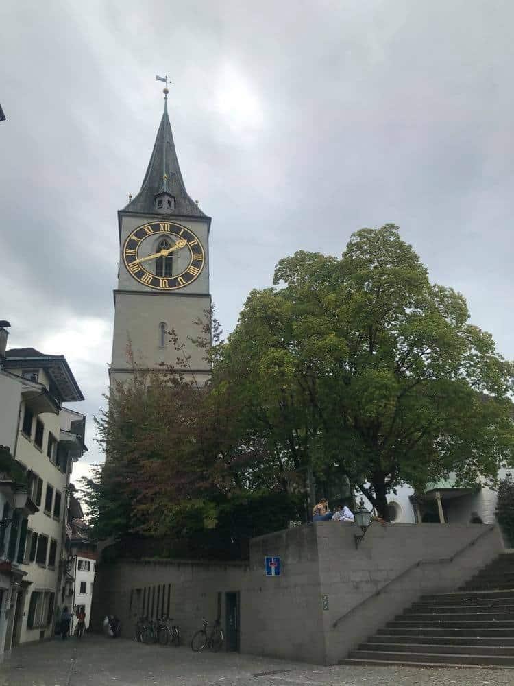 Zurich Tourist Spots, Things to do in Zurich, St. Peter's Church