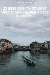 Zurich Tourist Spots, Things to do in Zurich