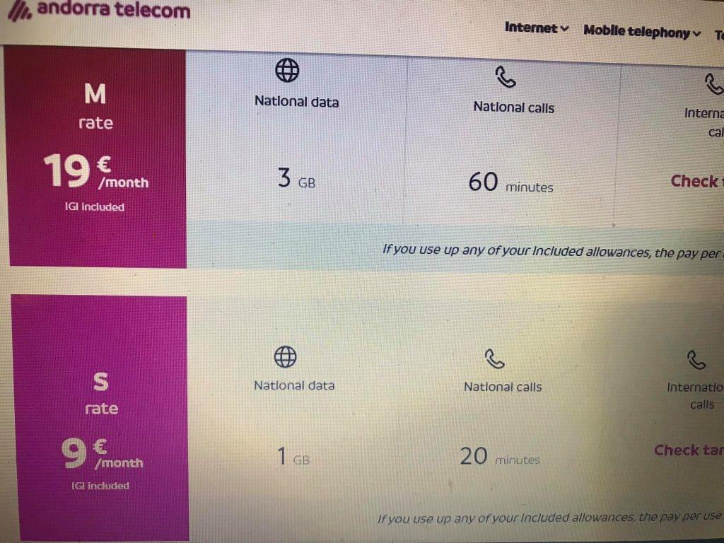 tourist, best sim card in andorra for tourist, sim card andorra, andorra sim card, andorra prepaid sim card, Andorra Telecom